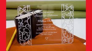 acrylic wedding invitations acrylic wedding invitations