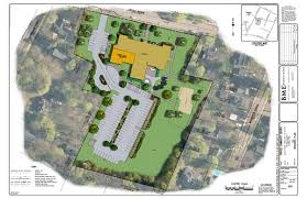 site plan community center project town of pittsford york