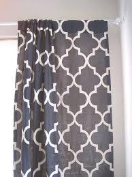 Lattice Design Curtains Pair Of 85 100 Custom Drapery Panels Moroccan Lattice