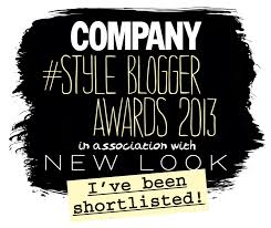 sayers style shortlisted for best designed blog with company