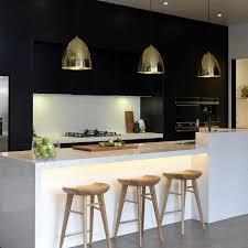 Lighting Designs For Kitchens Black Kitchen Design Idfabriek