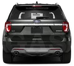 ford explorer trim ford explorer rear chrome trunk lid trim rear chrome trim