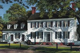 colonial style house plan 5 beds 5 00 baths 3515 sq ft plan 137 221