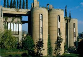 cement factory spanish architect ricardo bofill transforms old cement factory into
