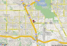 Comfort Inn Southeast Denver Map Of Hampton Inn Denver Southeast Tech Center Englewood