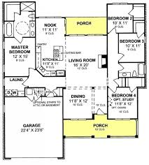 4 bedroom open floor plans 655847 4 bedroom 2 bath country farmhouse with open floor plan