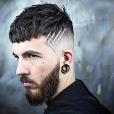textured crop skin fade hair design new hairstyle for men