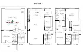 floor plan for new homes aura floor plans new homes in mira mesa county new homes
