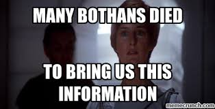 Many Bothans Died Meme - bothans died
