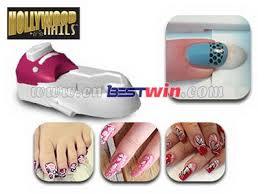 hollywood nails art printing system as seen on tv all in one nail