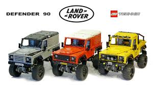 land rover defender 90 yellow lego rc adventures landrover defender 90 series youtube