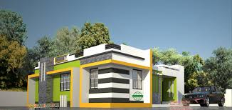 low cost contemporary style house in kerala kerala house plans