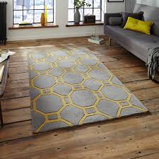 The Rug Seller Hong Kong Hk 4338 Rugs In Grey Yellow Free Uk Delivery The Rug