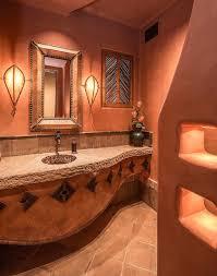 mediterranean style bathrooms bathroom mediterranean style bathroom with orange wall color