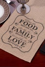 best 25 rustic placemats ideas on pinterest burlap crafts 84 inch food family love burlap table runner