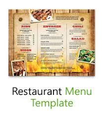 free word menu templates free menu templates blank restaurant sles for word