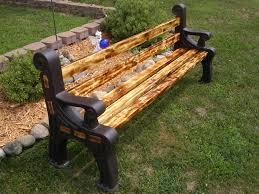 advertising bench rotobench indoor or outdoor bench plastic