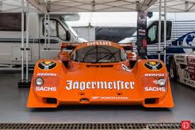 jagermeister porsche 962 evocative picture gallery from silverstone classic 2017