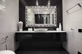 White Framed Mirror For Bathroom White Framed Mirror For Bathroom Inspirations And Clever Silver