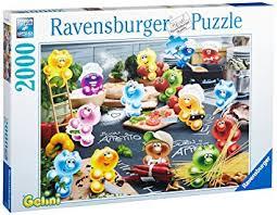 tous les jeux de cuisine ravensburger puzzle 2000 pièces gelini tous en cuisine
