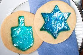 hanukkah cookies stained glass hanukkah cookies southern living