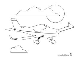 private aircraft coloring pages hellokids