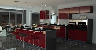 Red And Black Kitchen Ideas Black And Red Kitchen 2015 House Design