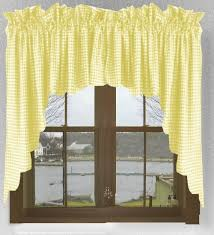 Yellow Kitchen Curtains Valances Yellow Swag Kitchen Curtains Modern Bedroom Decor Items Kitchen