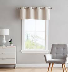 Curtain Pairs Warm Home Designs Ivory Blackout Curtains Valance Scarves Tie
