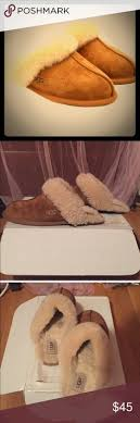 ugg slippers sale size 8 mk fuzzy brown slippers brown slippers michael kors shoes and