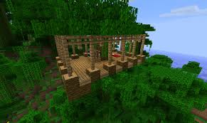 house ideas minecraft jungle biome home ideas screenshots show your creation