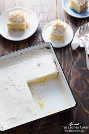 coconut tres leches cake the little kitchen
