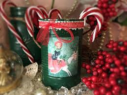 shabby chic christmas vase table decor centerpiece forest green