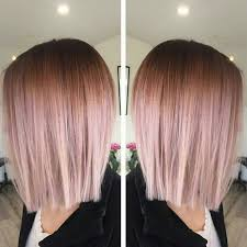 rose gold hair color 35 sparkling brilliant rose gold hair color ideas part 3
