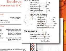 softcafe menupro restaurant menu design software sample menus