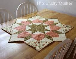 quilted placemats for round tables round table runner patterns free round designs