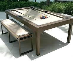 room needed for pool table pool table dining table combination outdoor billiards dining table