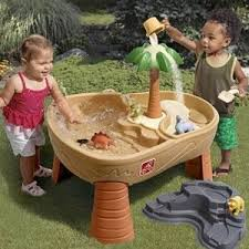 Little Tikes Anchors Away Pirate Ship Water Table Amazon Com Step2 Dino Dig Sand U0026 Water Table Toys U0026 Games
