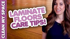 laminate floor cleaning u0026 care tips clean my space youtube
