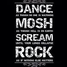 Rock Music Memes - rock ban tumblr
