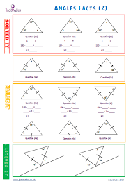 finding missing angles in triangles worksheet all worksheets interior and exterior angles of triangles