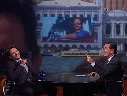 james franco was everywhere this year including stephen colbert u0027s