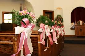wedding pew decorations beautiful options for wedding pew decorations