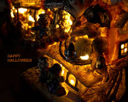 1024x768 happy halloween desktop pc and mac wallpaper