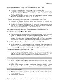 example resume profile section resume good objective sentence