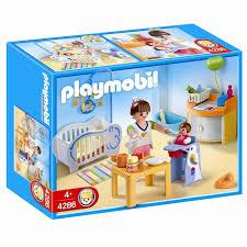 chambre d enfant playmobil playmobil 4286 chambre de bébé achat vente univers miniature