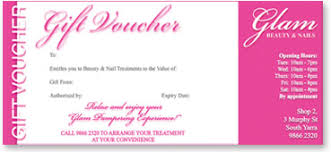 nail salon gift cards gift vouchers for glam beauty nails in south yarra offers a range
