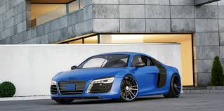 audi r8 chrome blue audi r8 tuning wheels exhaust and power upgrades wheelsandmore