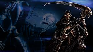 animated halloween backgrounds for desktop grim reaper hd wallpaper wallpapersafari