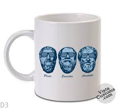 Coffee Mug Designs Socrates Plato Aristotle Philosophy Mug Coffee Mug Coffee Mug